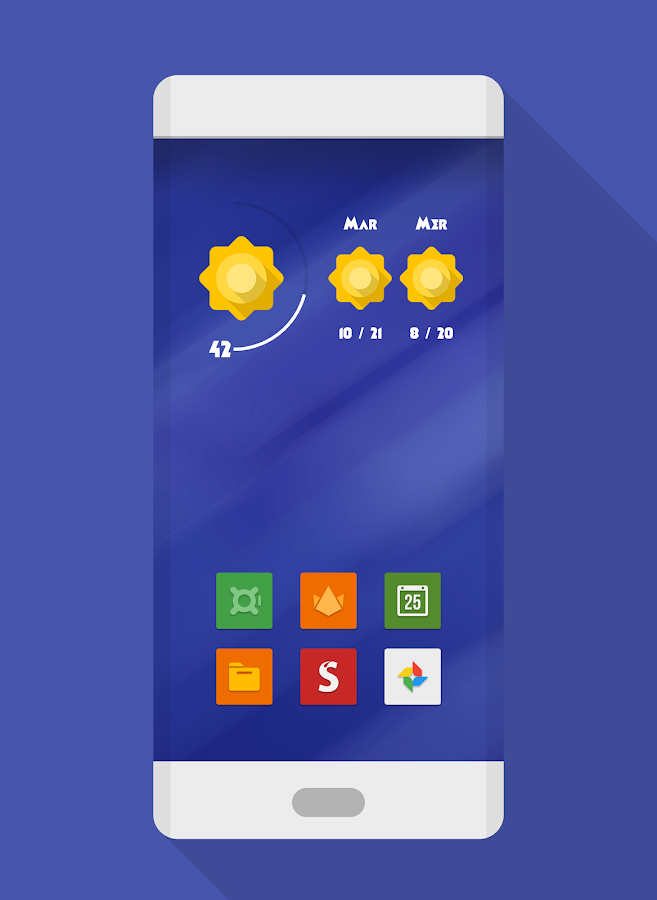 NAXOS FLAT - ICON PACK Screenshot 0