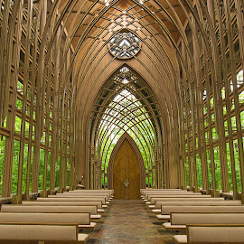 Cooper's Chapel in Bella Vista, AR by Jay Stout - Buildings & Architecture Places of Worship