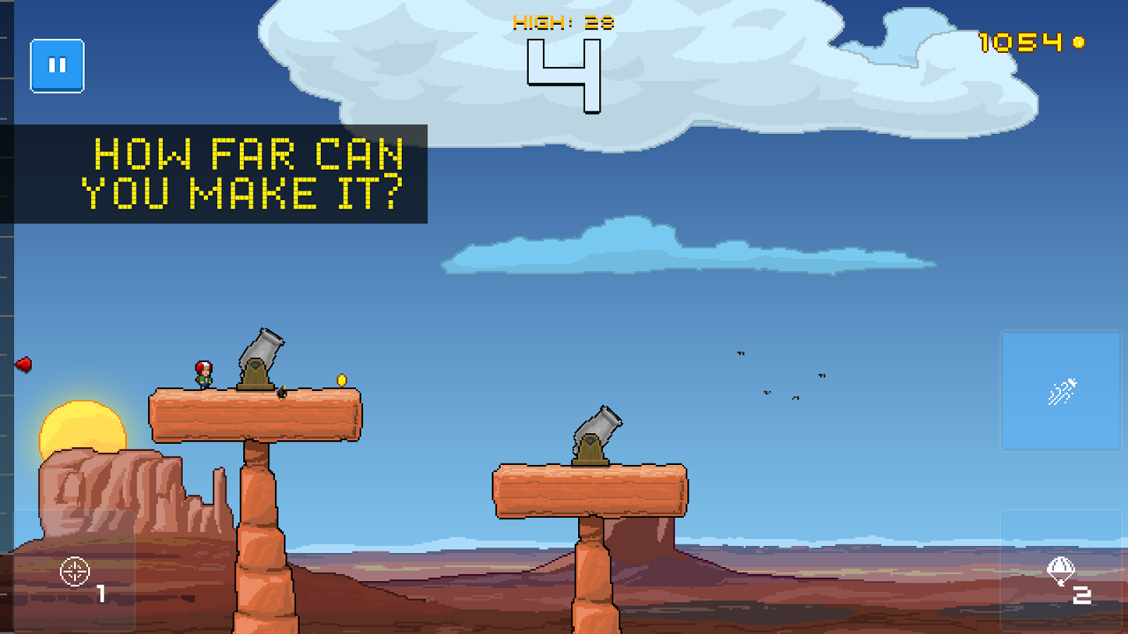 Human Cannonball Screenshot 0