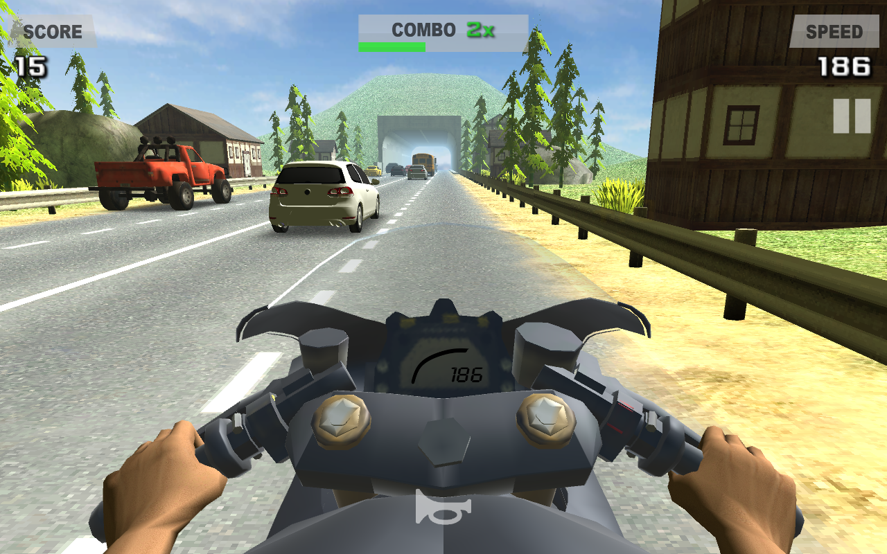 Riding in Traffic Online Screenshot 0