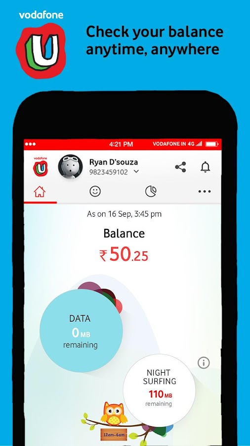 MyVodafone (India) Screenshot 1