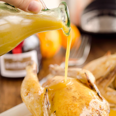 Crock Pot Cornish Hens in Orange Sauce