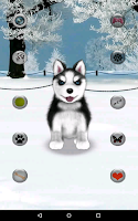 Screenshot of Talking Husky