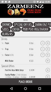 Zarmeenz Peri Peri Chicken UK - screenshot