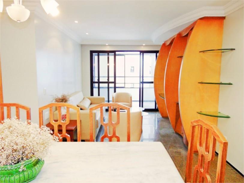 Apartamento com 3 quartos à venda, 114 m², vista mar, mobiliado, 2 vagas - Meireles - Fortaleza/CE