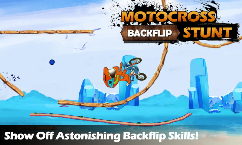 Gallery of images, with the help of which you will be able to understand the meaning of the word: motocross backflip