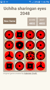 Game uchiha sharingan eyes 2048 APK for Windows Phone
