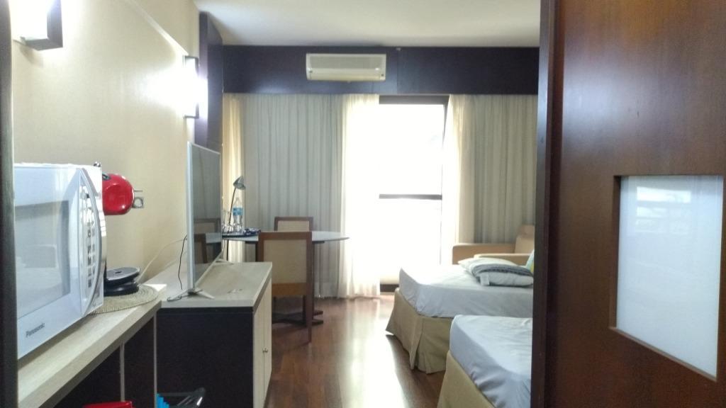 Flat com 1 dormitório para alugar, 32 m² por R$ 3.500/mês - Paraíso - São Paulo/SP