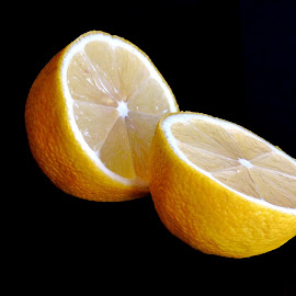 LEMON by Wojtylak Maria - Food & Drink Fruits & Vegetables ( sour, juicy, fruit, food, healthy, lemon )