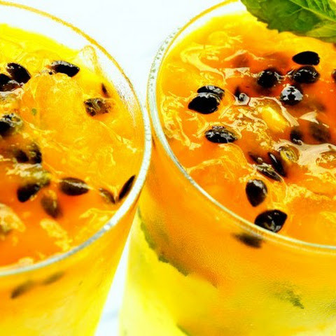 Tropical Breakfast Passion Fruit Smoothie