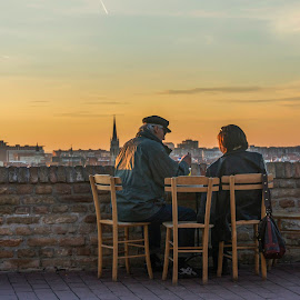 Couples by Maja Tomic - People Couples ( sunset, couples )