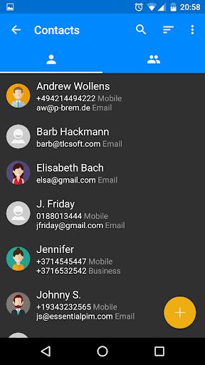 EssentialPIM - screenshot