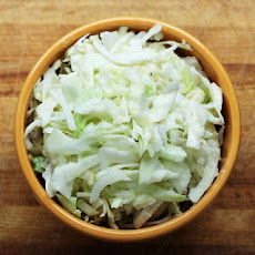 A Lighter Creamy Cole Slaw