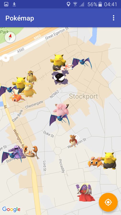 Pokemap - scan and alert Screenshot 3
