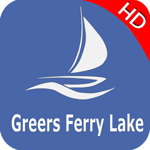 Greers Ferry Arkansas Offline GPS Nautical Charts For PC / Windows 7/8/10 / Mac – Free Download