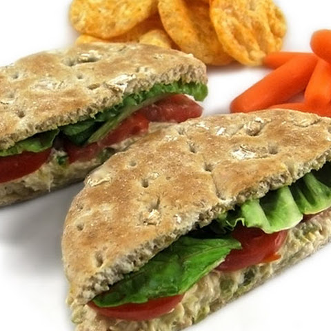 A Delicious, Skinny, Fiber Rich Tuna Sandwich You'll Just Love