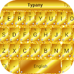 Golden Glitter Typany Theme Icon