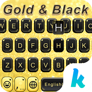 Gold & Black Keyboard Theme