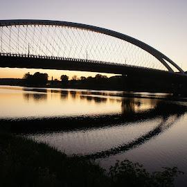 Trojsky bridge, Prague by Luboš Zámiš - Buildings & Architecture Bridges & Suspended Structures