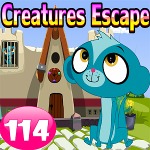 Cute Creatures Escape Game-114