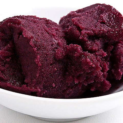 Mulberry or Blackberry Sorbet