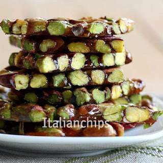An Exquisite Brittle With Pistachio