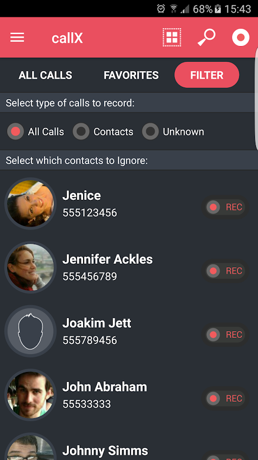 Automatic Call Recorder Screenshot 5