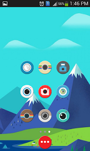 Circles - Bevel & Emboss - screenshot