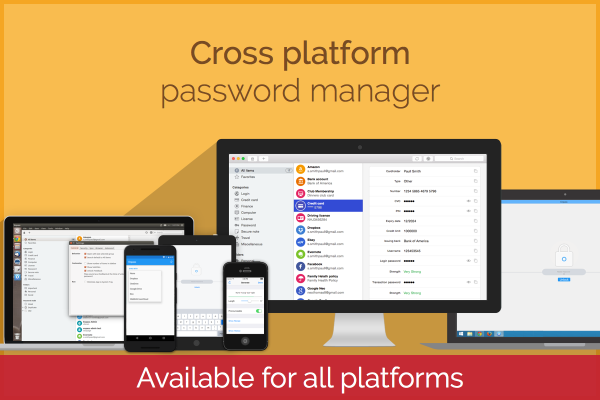 Enpass Password Manager Screenshot 6
