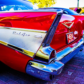 57 Chevy Reflections by Marc Kirby - Transportation Automobiles