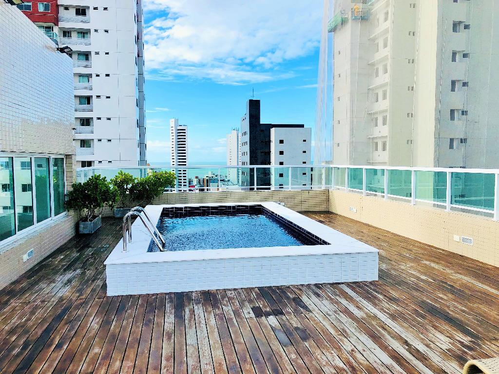Apartamento com 2 dormitórios à venda, 59 m² por R$ 369.000 - Tambaú - João Pessoa/PB