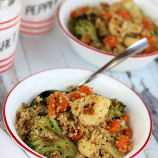 Easy Roasted Vegetable Quinoa