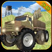 Army Monster Truck Parking 3D APK for Bluestacks
