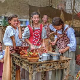 Children in traditional holyday, 2 by Patrizia Emiliani - Babies & Children Children Candids ( hdr, children, traditional holiday )