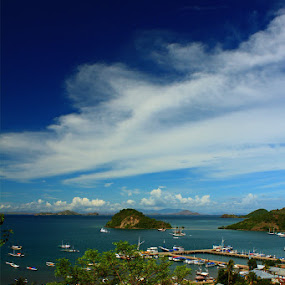 Labuan Bajo Port by Pande Wiguna - Landscapes Travel