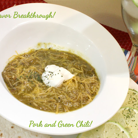 Pork and Green Chili!