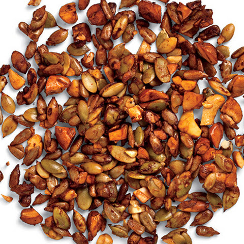 Spiced Pumpkin Seed and Cashew Crunch