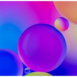 \\\\000//// by Surendran Narayanamoorthy - Abstract Macro ( abstract water oil close up, macro pattern, abstract pattern, abstract art, water and oil macro abstract design )