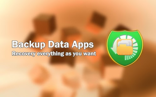 Backup Data Apps - screenshot