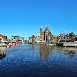 Amsterdam  by Bernard Tjandra - City,  Street & Park  Vistas