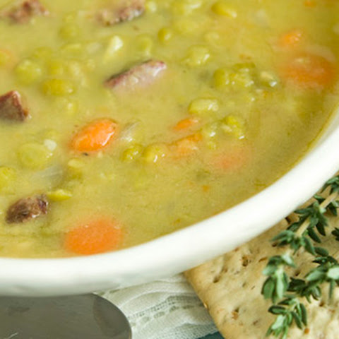 Slow Cooker Split Pea Soup Recipe | Yummly
