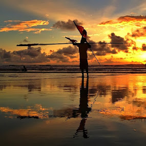 Life guard by Krishna Mahaputra - Instagram & Mobile iPhone ( bali, popular )