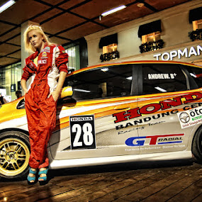 Lady Racer by Rizky Darmawan - People Portraits of Women