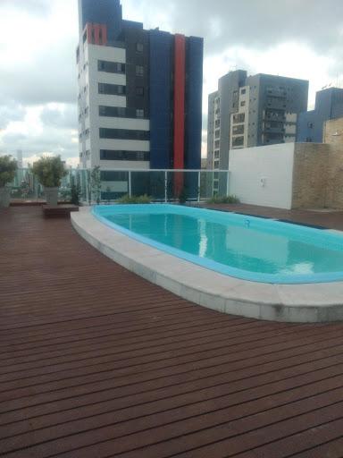 Apartamento mobiliado prox. ao manaira shop. com 1 dormitório para alugar, 40 m² por R$ 1.500/ano - Manaíra - João Pessoa/PB