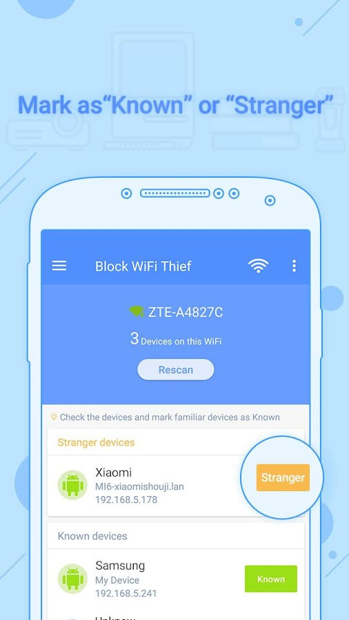 Block WiFi Thief Pro version - Ads Free! Screenshot 2
