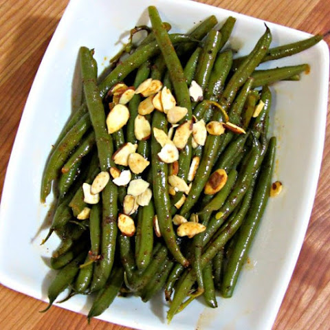 Simple Sweet & Spicy Green Beans