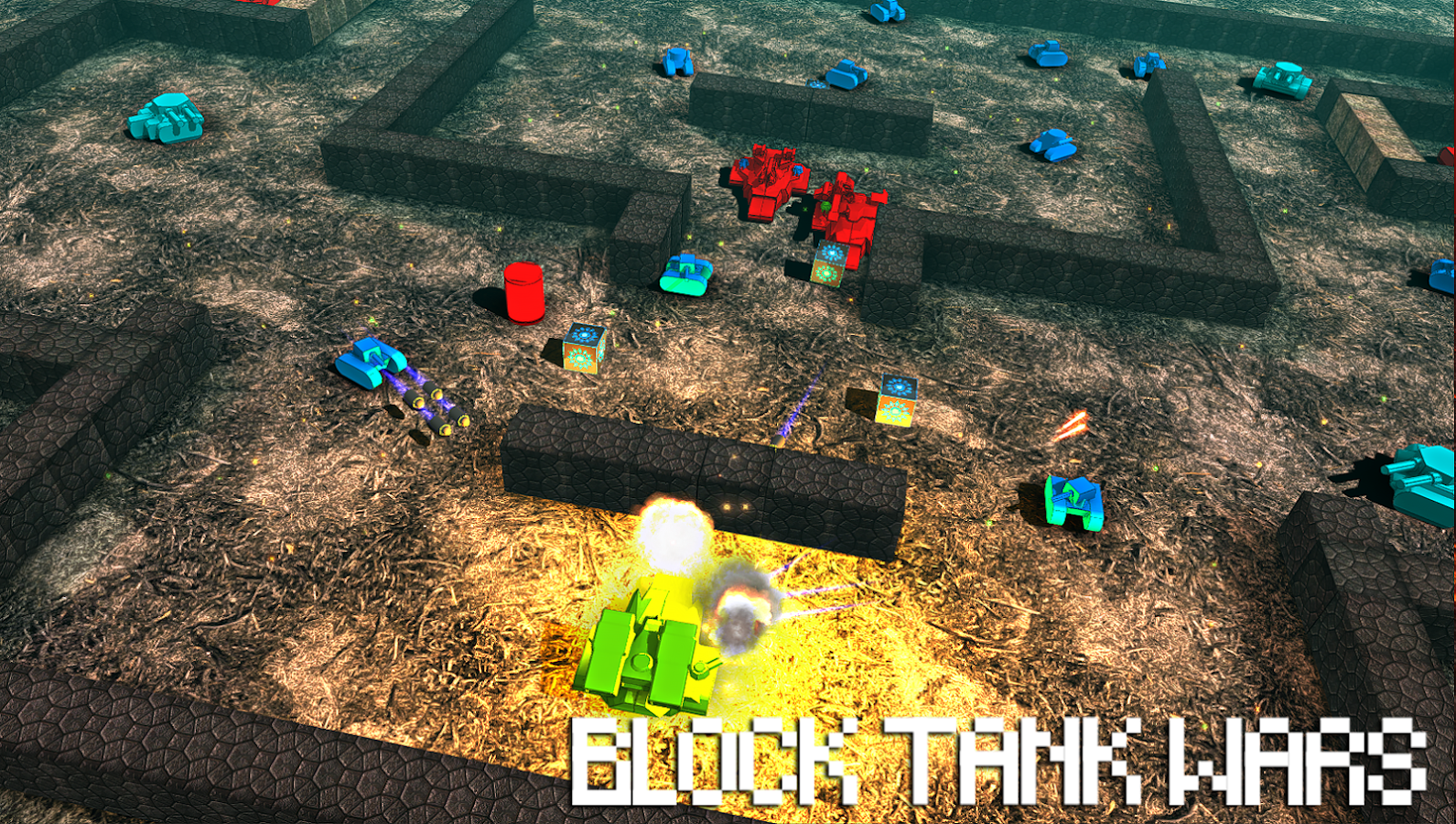 Block Tank Wars Screenshot 4