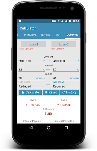 EMI Calculator screenshot 4
