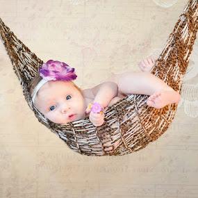 Just hangin' by Natalie Houlding - Babies & Children Babies ( baby, hammock, newborns )