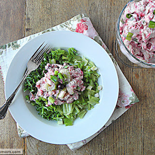 Mayo Free Cranberry Turkey Salad